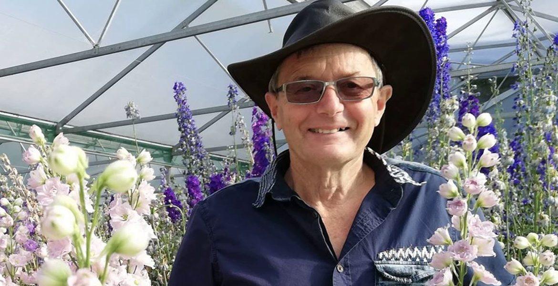Новозеландские дельфиниумы Даудсвелла (Delphiniums Dowdeswell), интервью с Терри Даудсвеллом
